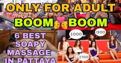 4 BEST SOAPY MASSAGE IN PATTAYA THAILAND | SANDWICH MASSAGE | ONLY FOR ADULTS #Pattaya #thaimassage