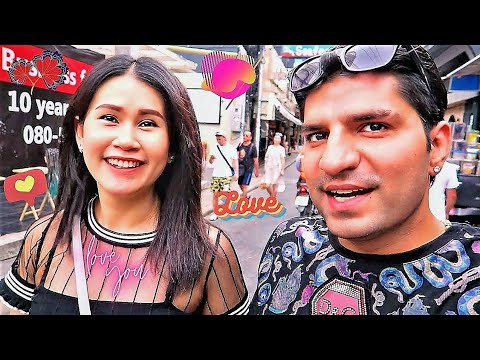 Meeting Adorable THAI GIRL In Pattaya Thailand 🇹🇭  THAILAND VLOG