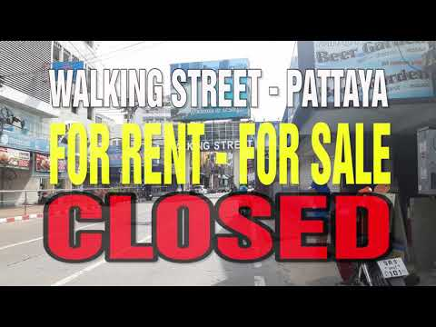 Strolling Avenue Pattaya – (September 2020) – For Rent – For Sale – CLOSED!