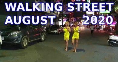 August 2020 Walking Road Pattaya, Soi Diamond, What's Open,