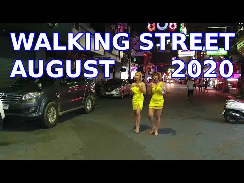 August 2020 Walking Road Pattaya, Soi Diamond, What's Open,