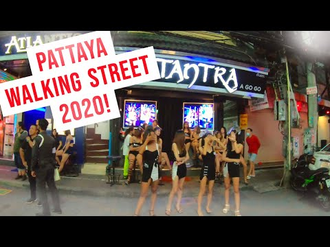 What Pattaya Strolling Boulevard Looks Be pleased in 2020- Post CoronaVirus | Thailand