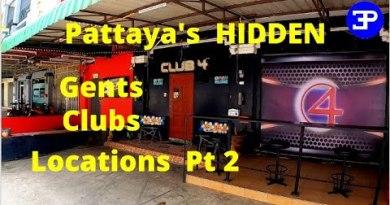 Pattaya's Hidden Gentlemen's  Drinking Golf equipment, Locations Pt 2