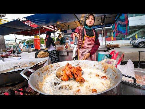 Boulevard Meals FRIED CHICKEN!! 🍗 The Final Thai Fried Chicken Tour!!   Hat Yai, Thailand