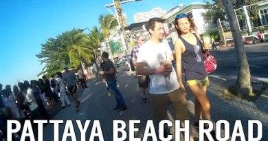 Pattaya Sea drag Street Walking | Thailand