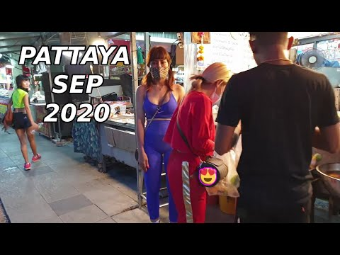 Pattaya Strolling Avenue September 2020