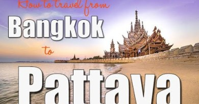 Bangkok to Pattaya Highway road BY Thailand Bus