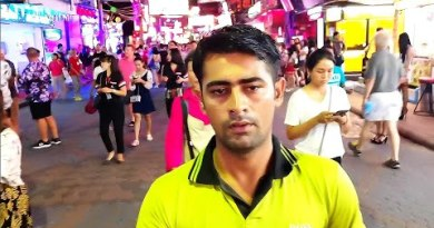 Bangkok Pattaya walking road part3