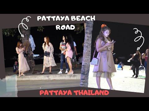 Pattaya Coastline Toll road Nightlife | Pattaya Thailand | Coastline Toll road Pattaya