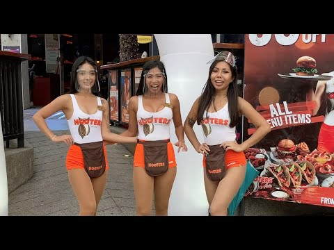 Hooters Is Launch!!! Beach Avenue, Pattaya in Thailand is Serve!