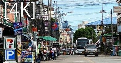 Pattaya 4K Stroll 2020 sep 27. Soi Khopai from ThepprasitRoad.