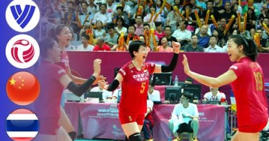 China vs. Thailand – Plump Match | Females's Volleyball World Extensive Prix 2016