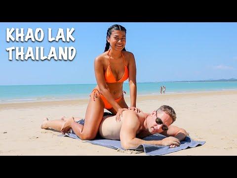 Thai Horny Rubdown! ( Exploring The Easiest Seashores In Khao Lak Thailand )