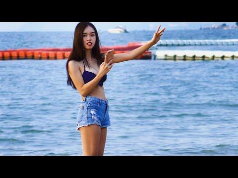 Pattaya Seaside Scenes, October, Thailand, 2020