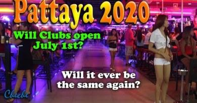 Pattaya 2020 June 30 – Will Golf equipment open soon? –  Pattaya Strolling Avenue & Soi LK Metro visited
