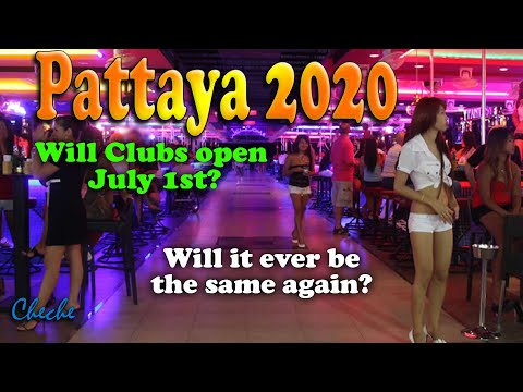 Pattaya 2020 June 30 – Will Golf equipment open soon? –  Pattaya Strolling Avenue & Soi LK Metro visited