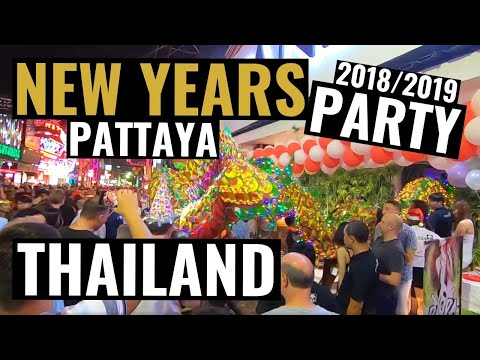 Pattaya Contemporary 12 months birthday celebration 2018 / 2019 31. December – Fireworks and Walking Avenue within the tedious of evening