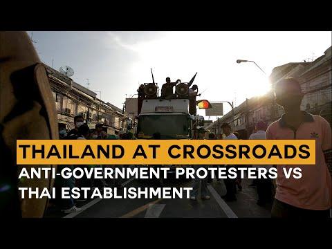 Thailand at crossroads – Anti-authorities protesters vs Thai institution