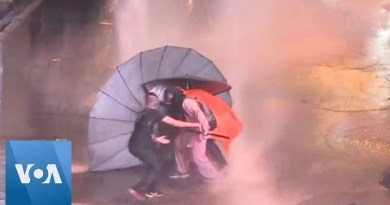 Thailand: Water Cannon Former on Protesters
