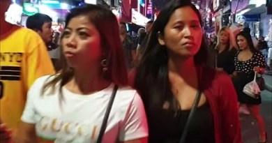( 4K ) PATTAYA strolling avenue scenes unusual night