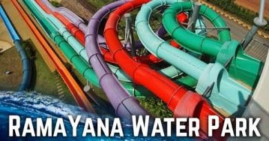 ALL WATER SLIDES at RamaYana Water Park in Pattaya, Thailand