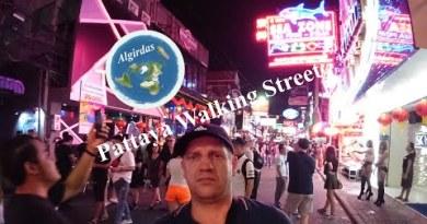 Pattaya Strolling Side road Nightlife Freelancer 2019