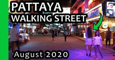 PATTAYA Strolling Boulevard right thru Covid-19, August 2020, Thailand