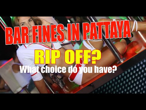 Bar fines in Pattaya, what is the answer and the blueprint in which attain you the truth is feel about these costs?