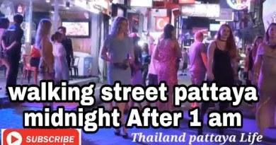 strolling aspect motorway pattaya Night Life in month of 15 January