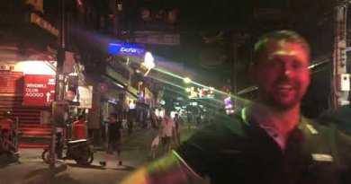 Pattaya Strolling avenue March 2020