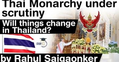Thailand Monarchy Draw below scrutiny – Three most important demands of protestors explained #UPSC #IAS