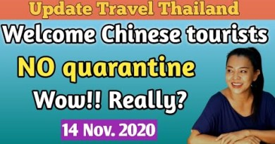 Chinese vacationer to Thailand