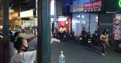 Pattaya Strolling Boulevard on July 8, 2020. Some GoGo Bars are originate.