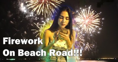 Firework on Pattaya Sea hump! So Many Magnificent Other folks On The Aspect road!