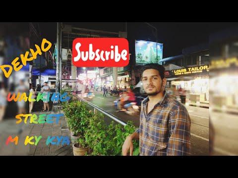 Pattaya strolling street | Nightlife Thailand vlog |