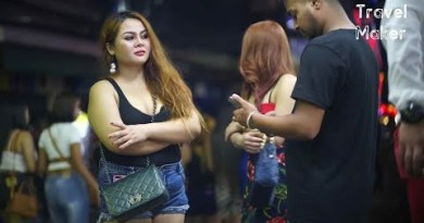 Quit You Fancy Pudgy Ladies??? Walking Avenue Pattaya and Extra… / Thailand #9