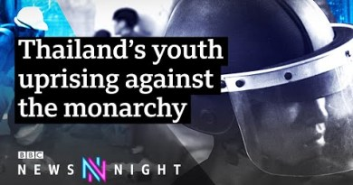 Why are younger activists in Thailand protesting in opposition to the monarchy? – BBC Newsnight