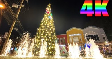 Pattaya4KWalk 2020 Dec. Evening to NightScene BeachRoad, Soi6, CentralMarina.