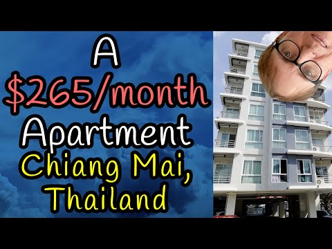 Condominium tour, month-to-month funds & furnishings bills  : Chiang Mai, Thailand  2020 : v112
