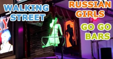 Why Pattaya Strolling Avenue is Heaven for Adults || Scamper Scamper bars || Lady Boys ||  Russian Ladies