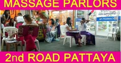 MASSAGE PARLORS ON SECOND RD SUNDAY Third JUNE 2018 PATTAYA THAILAND