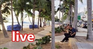 Pattaya, Jomtien Seashore Sunset Reside Chat