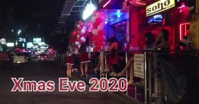 Riding in Pattaya: Soi 6 – Seaside Rd – Soi 8 – Soi 7 on Dec 24, 2020 | after 8 pm | Thailand