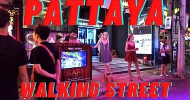 Pattaya Strolling Avenue Thailand