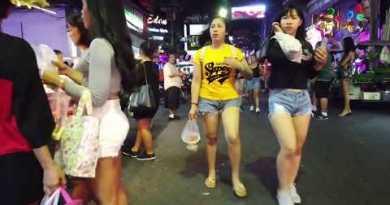 Early Morning 3.00am Walking Road Pattaya – Mar. 2020 – Sooner than Shut Down