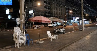 Second Road Avenue Browsing Mall  December 31 2020 Pattaya Thailand Recent Years Eve 2021