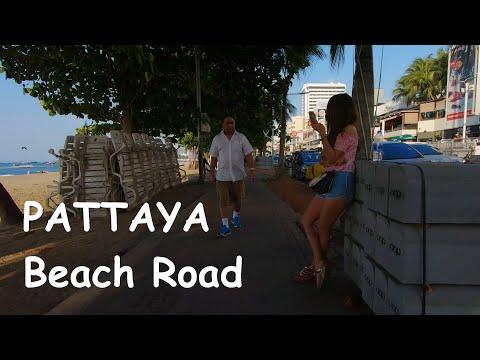 Pattaya Seaside Toll road and Soi 6 scenes – feb 2020