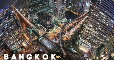 Bangkok City Thailand Drone Evening 4k 2020 – Bangkok Thailand City Evening Ogle