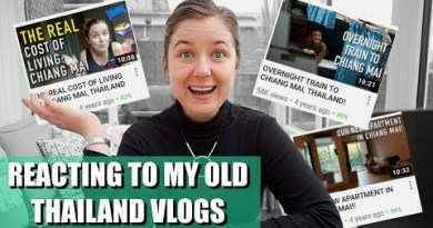 LIVE Response to my historic Thailand videos… Let's reminisce!