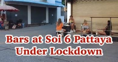 PATTAYA Sea mosey Boulevard : Bars in Soi 6 Pattaya are closed within the future of lockdown. #pattata #pattayasoi6